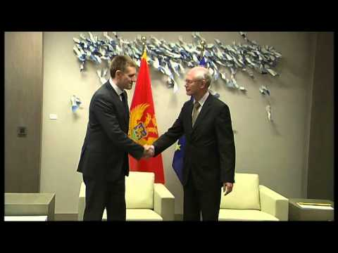 Meeting with Igor LUKSIC, Prime Minister of Montenegro