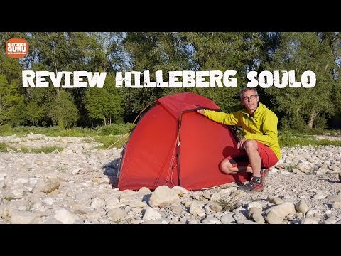 Review Hilleberg Soulo (English Subtitels)