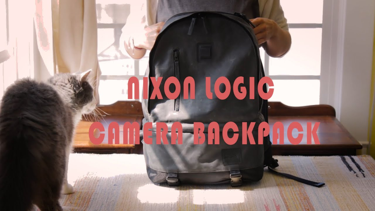73ba0bb812bc Nixon Logic Camera Backpack Product Video - YouTube