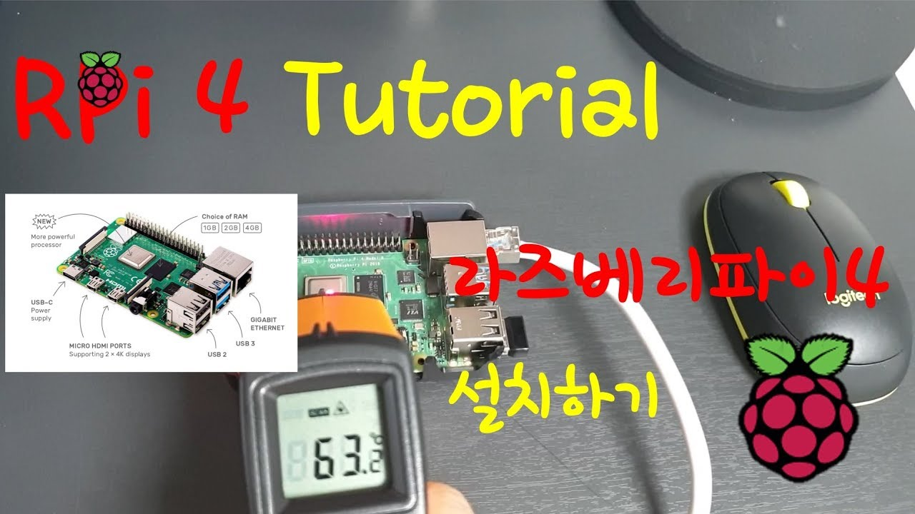 best place the cheapest latest design Raspberry Pi 4 Tutorial - YouTube