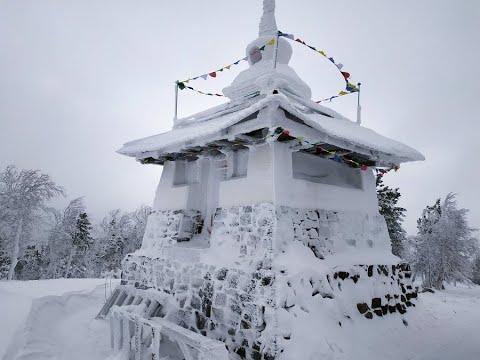 Гора Качканар. До вершины дошли не все.