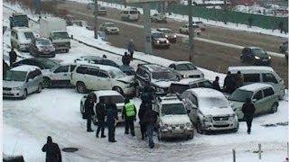 нарезка аварий и дтп февраль 2014 # 6