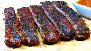 simple basic bbq spare ribs how to barbecue ribs