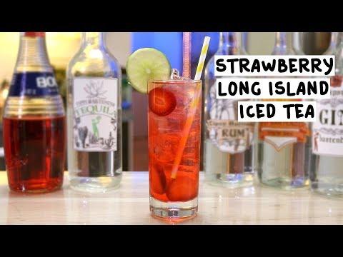 Strawberry Long Island Ice Tea