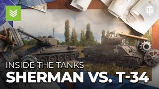 sherman-proti-t-34