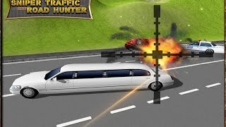 Sniper Traffic Road Hunter 3D - [iOS/Android Gameplay]