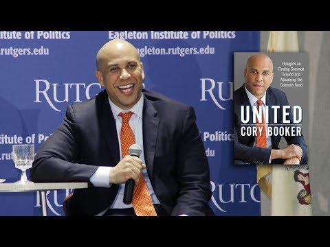 'UNITED' - Sen. Cory Booker discusses his book w/ Bobbi Brown