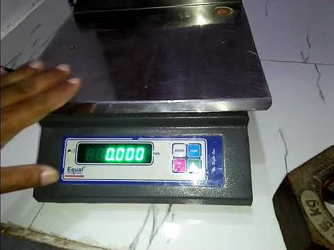 how to calibration 30kg weighing scale youtube
