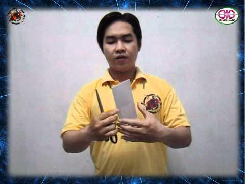 [Hướng dẫn] ảo thuật cắt dây cùng ống giấy (HoangVietMagic-KLi.Viet)