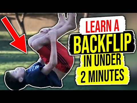 4123ff718 How To Do A Backflip For Beginners On Ground - YouTube