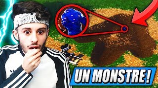 "The MORE BIG SECRET ""SAISON 4"" on FORTNITE... (THE MONSTER IS COMING)"
