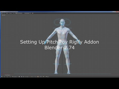 Blender PitchiPoy Rig 2.74