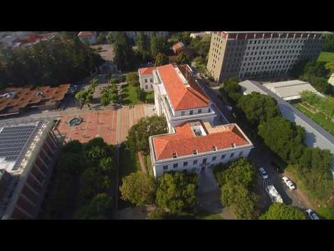 Drone visit to Kara's Dorm Building at UC Berkeley