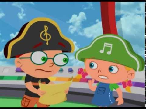 Маленькие Эйнштейны - Пиратский клад - Серия 5, сезон 1