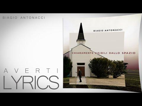 Averti (testo   lyrics) - Biagio Antonacci