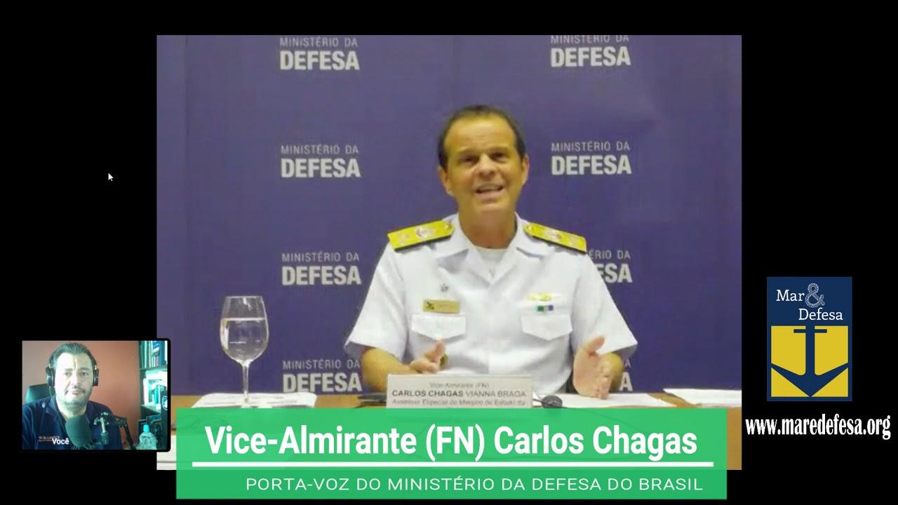 05/08/20 - DEFESA EM PAUTA - Entrevista com o Almirante Carlos Chagas (Ministério da Defesa)