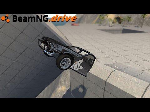 BeamNG.drive - DRIVING HALF A CAR
