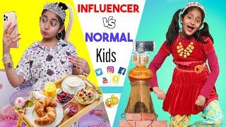 Influencer vs Normal Kids | MyMissAnand