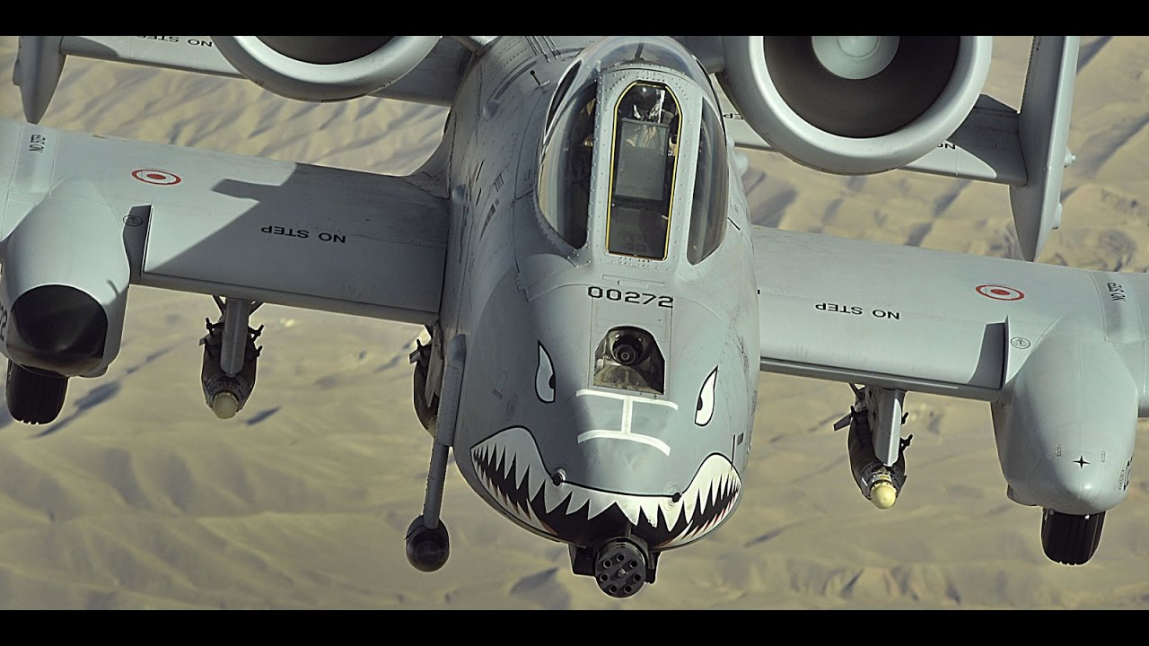 Watch This Insane Video: A 10 Warthog in Action