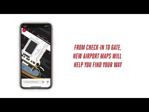 Airport Maps on the Emirates App | Emirates Airline