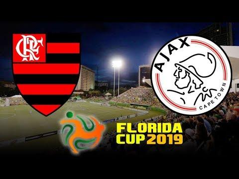 FLAMENGO 2 (4) X (3) 2 AJAX 10/01/2019 | FLORIDA CUP 2019 - DECISÃO NOS PÊNALTIS [PES 2019 ...