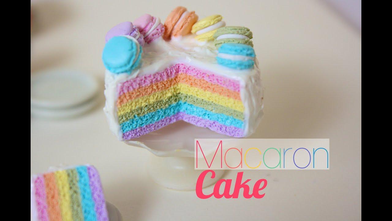 Rainbow Cake Pate Fimo