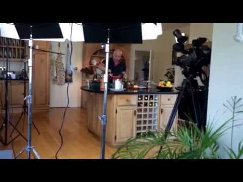 Behind the s filming Cooking with Treyvaud