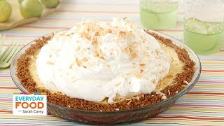 Coconut Key Lime Pie - Everyday Food With Sarah Carey