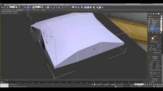 3D Max.Видео уроки для начинающих.Видео урок по созданию подушки в 3Ds Max Edit poly