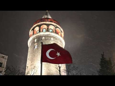 Modern Istanbul And Ancient Constantinople