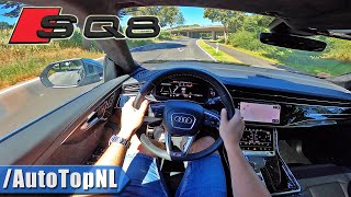 Audi SQ8 4.0 V8 BiTurbo POV Test Drive by AutoTopNL