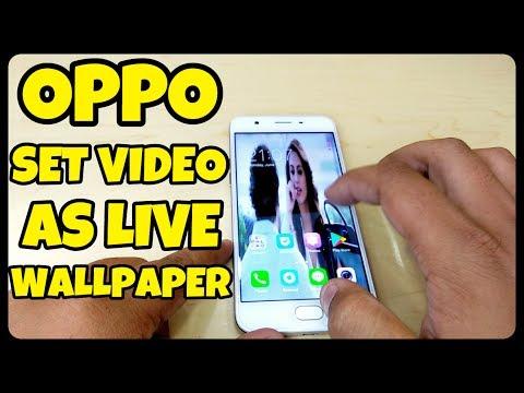 Oppo Set Video As Live Wallpaper | Set Video Live Wallpaper in Oppo