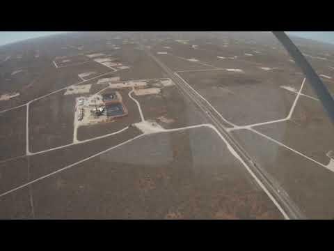 Flying in a Cessna Bird Dog