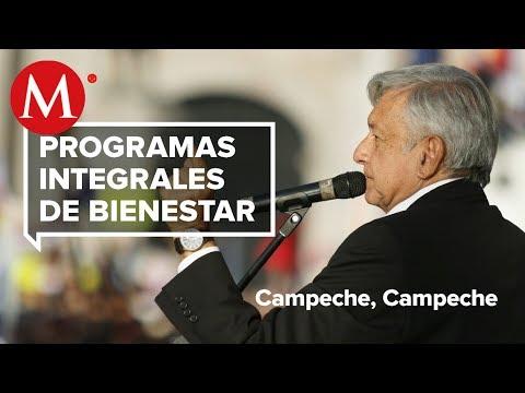 AMLO presenta Programas de Bienestar en Campeche, Campeche