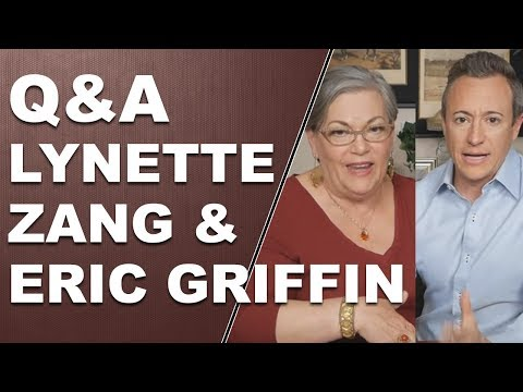 Q & A with Lynette Zang and Eric Griffin 11/21/17