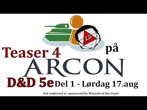 Teaser 4 RullD20 på Arcon DnD 5e Del 1