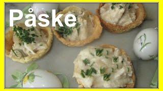 Påske - Kylling Og Asparges I Tarteletter - Chicken And White Asparagus Tarlet - Danish Easter