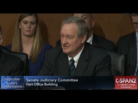 Crapo Calls Gorsuch Servant of the Law