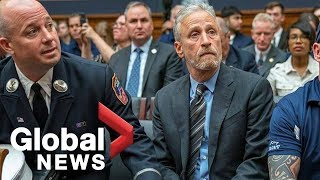 Download Jon Stewart tears into Congress for ignoring plight of  9/11 first responders Mp3 and Videos