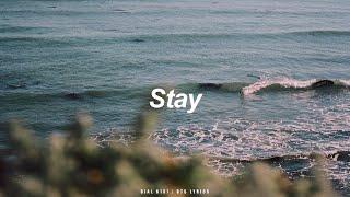 Stay   BTS (방탄소년단) English Lyrics