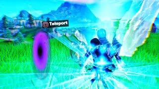 How to TELEPORT in fortnite (In public) Fortnite glitches season 9