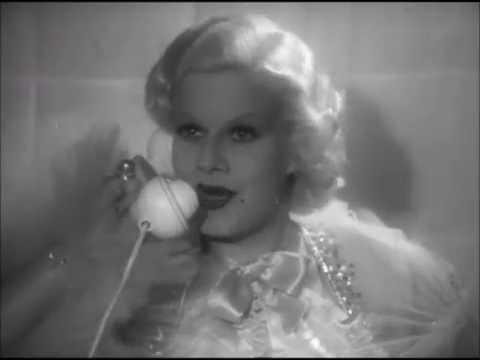 Dinner at Eight (1933)  Hilda Vaughn , Jean Harlow, and Billie Burke. scene
