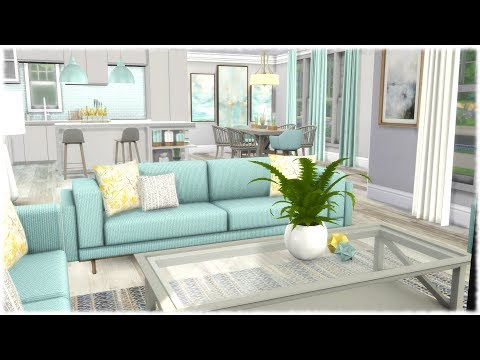 The Sims 4: Speed Build // BASE GAME CC HOUSE