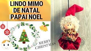 Como fazer Mimo de Natal passo a passo com Molde