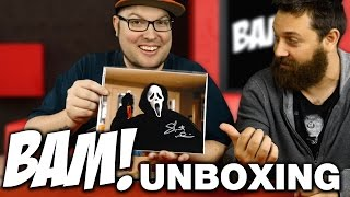 Bam Box Unboxing October 2016 - Horror Subscription Box
