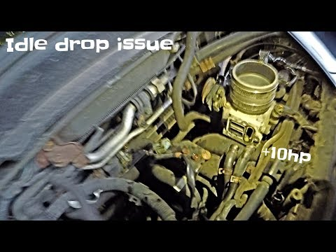 How To Clean or Remove Honda Civic Idle Air Control Valve 2001-2005 Honda Civic