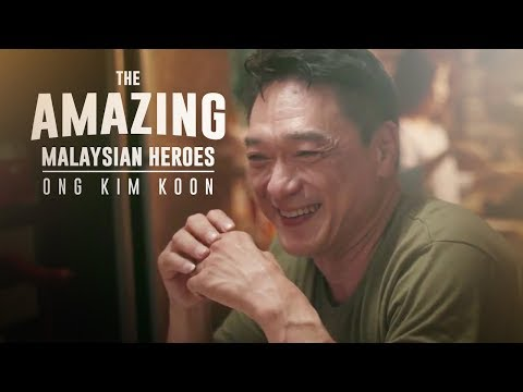 Kisah Benar Ong Kim Koon, Hero Malaysia - The Amazing Malaysian Heroes