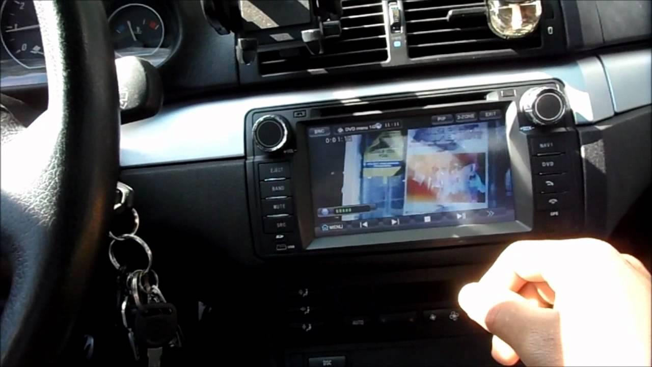 Bmw E46 Car Entertainment System Youtube
