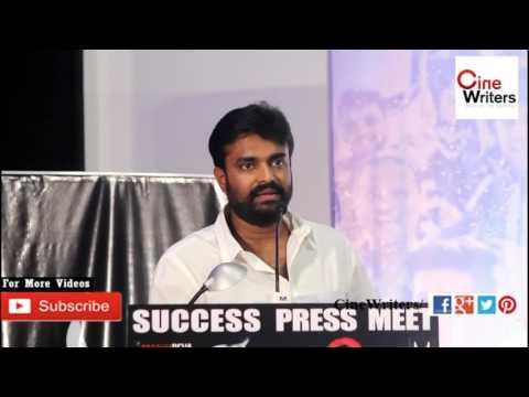 Director #Vijay speaks about #PrabhuDeva at #Devi Success Meet