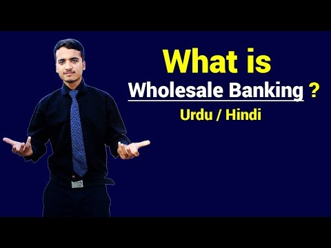 What is Wholesale Banking ? Urdu / Hindi